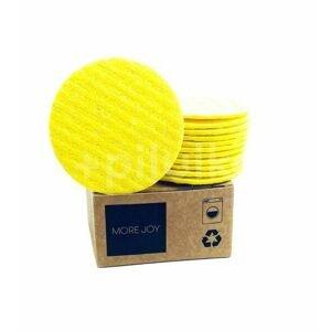 More Joy Kozmetický celulózový támpón žltý 1×12 ks v krabičke