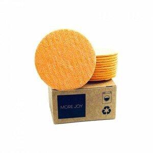 More Joy Kozmetický celulózový támpón oranžový 1×12 ks v krabičke