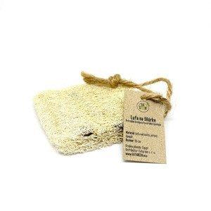 EatGreen Lufa na šnúrke – 10 cm 1×1 ks, prírodná hubka