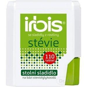 Irbis so sladidlami z rastliny Stévia 1×110 tbl, stolové sladidlo