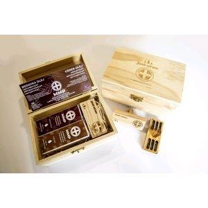 MMP Dezinfekcia auta - medovka + céder olej + difúzer v drevenom boxe 1×1 kus