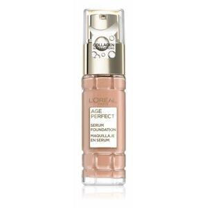 L'Oréal Paris Age Perfect 250 Warm Beige 1×30 ml, kolagénový make-up