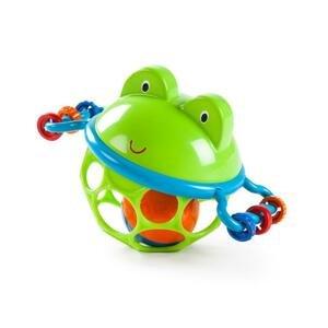 Hračka žabka Oball Jingle&Shake Pal™ 0m+ 1 ks