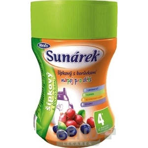 SUNÁREK Instantný nápoj dobré ráno šípkový 200 g