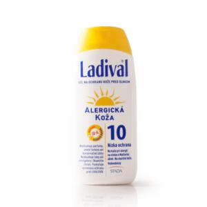LADIVAL Allerg gél SPF 10 gél 200 ml