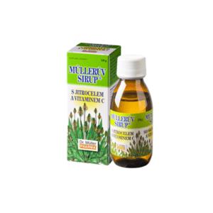 MÜLLEROV SIRUP so skorocelom a vitamínom C 320 g