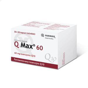 FARMAX Q Max 60 30 + 30 kapsúl ZADARMO