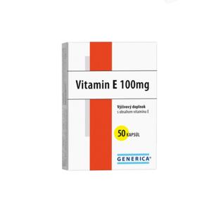 GENERICA Vitamín E 100 I.U. 50 kapsúl