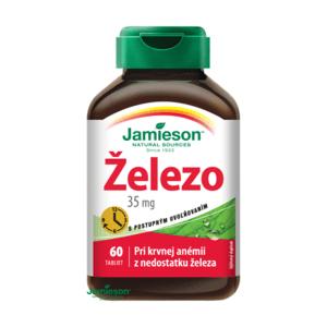 JAMIESON ŽELEZO 35 mg S POSTUPNÝM UVOĽŇOVANÍM tbl 60x35mg