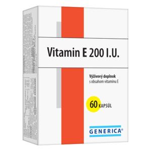 GENERICA Vitamín E 200 I.U. 60 kapsúl