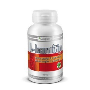 kompava L-KARNITÍN 500 mg cps 60x500mg