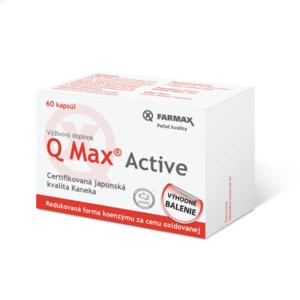 FARMAX Q Max active 30 + 30 kapsúl ZADARMO