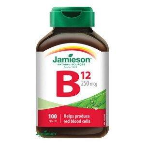 JAMIESON Vitamín B12 metylkobalamín 250 µg 100 tabliet