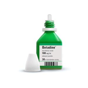 BETADINE Dezinfekčný roztok 30 ml
