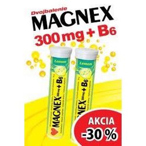 Magnex 300 mg + B6 effervescent AKCIA -30 % tbl eff 2x20ks