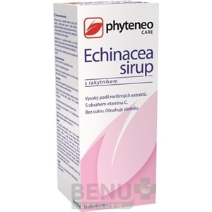 Phyteneo Echinacea sirup s rakytníkom 250 ml 250ml