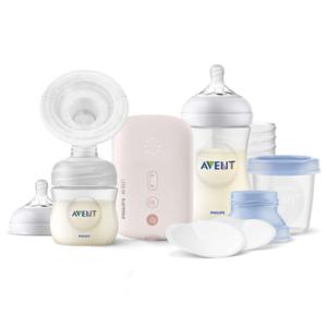 AVENT Elektrická odsávačka mlieka Natural 1 set