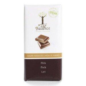 BALANCE Mliečna čokoláda so sladidlom zo stévie 85 g