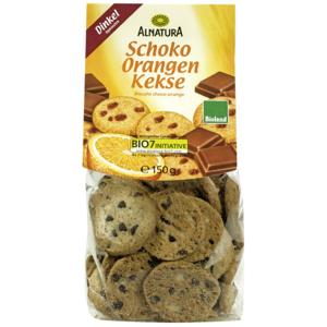 Alnatura Čokoládovo-pomarančové sušienky 150g