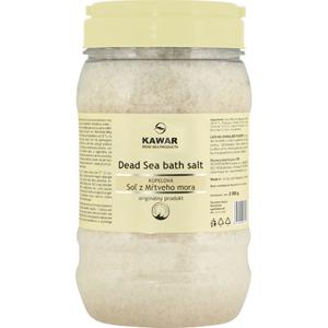 KAWAR Kúpeľová soľ z Mŕtveho mora 2000g 2000g