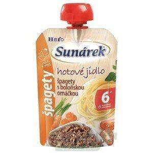 SUNÁREK Hotové jedlo špagety s boloňskou omáčkou 120 g
