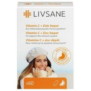 LIVSANE Vitamín C a zinok 60 tabliet