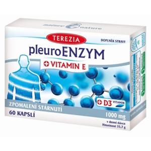 TEREZIA PleuroENZYM + VITAMIN E cps 60