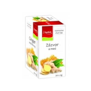 APOTHEKE Premier selection čaj zázvor a med 20 x 2g