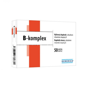 GENERICA B-komplex 50 kapsúl