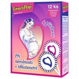GRAVIPOP Lizanka pre tehotné 12 kusov