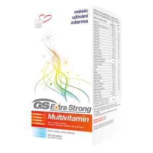 GS Extra strong multivitamín 60 + 30 tabliet ZADARMO