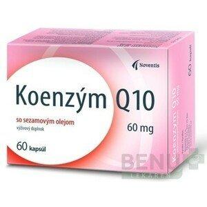 Noventis Koenzým Q10 60 mg tbl 60