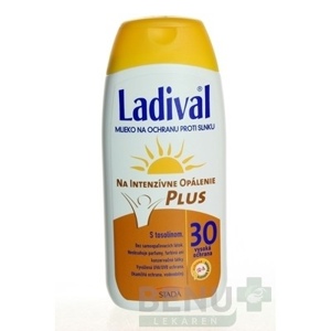 Ladival P+T Plus SPF 30 mlieko 200ml