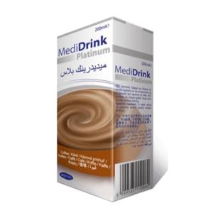 MEDIDRINK Platinum príchuť káva 30 x 200ml
