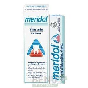 MERIDOL Sada ústnej hygiény ústna voda 400 ml + pasta 75 ml