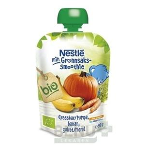 Nestlé min Smoothie BIO Tekvica Banán Mrkva 90g