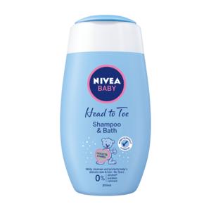 NIVEA BABY Jemný kúpeľ a šampón 200 ml