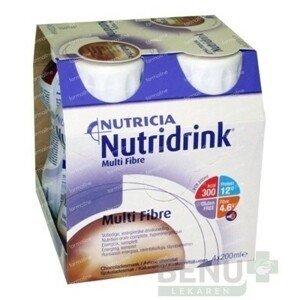 NUTRIDRINK MULTIFIBRE 4x200 ml 4x200ml