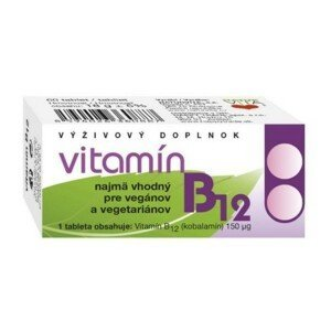 NATURVITA Vitamín B12 60 tabliet