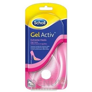 Scholl GelActiv vložky do topánok, s extra vysokým podpätkom 1par