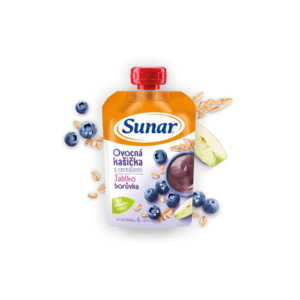 SUNAR kašička s cereáliami mix ovocie 120 g