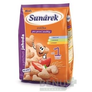 SUNÁREK Detský snack srdiečka 50 g