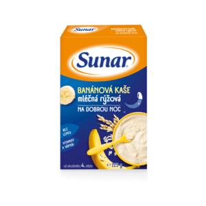 SUNAR kašička na dobrú noc mliečna ryžová 225 g