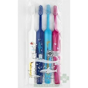 TePe Select Compact ZOO X-soft zubná kefka 3+1 zdarma