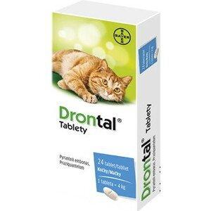 DRONTAL pre mačky 24 tabliet