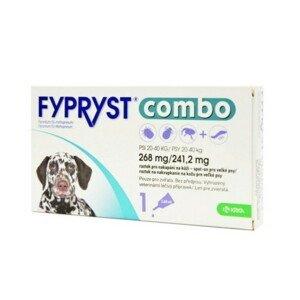 FYPRYST combo 268 mg/241,2 mg PSY 20-40 KG 1x2,68ml