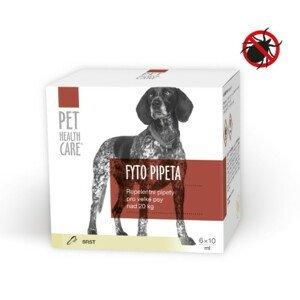 PET HEALTH CARE Fyto pipeta pre veľkých psov nad 20 kg 6 x 10ml