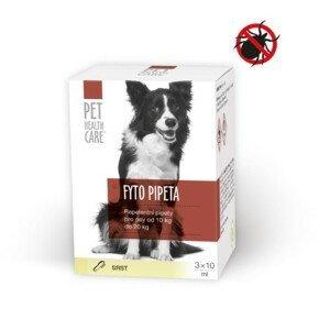 PET HEALTH CARE Fyto pipeta pre psov 10-20 kg 3 x 10ml