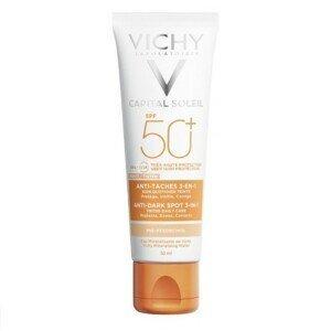 VICHY Capital soleil krém proti tmavým škrvnám SPF50+ 50 ml