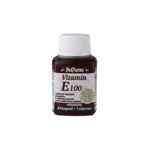 MEDPHARMA Vitamín E 100 30 + 7 tabliet ZADARMO